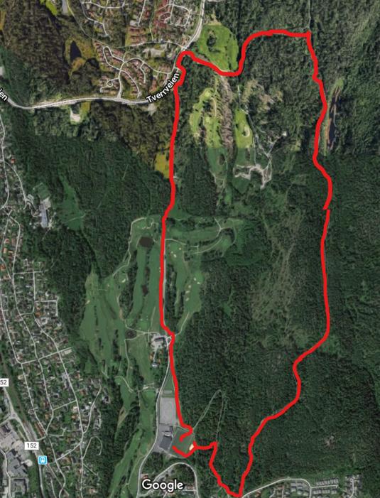 Oppegårdmila 5 og 10 kilometers løypa